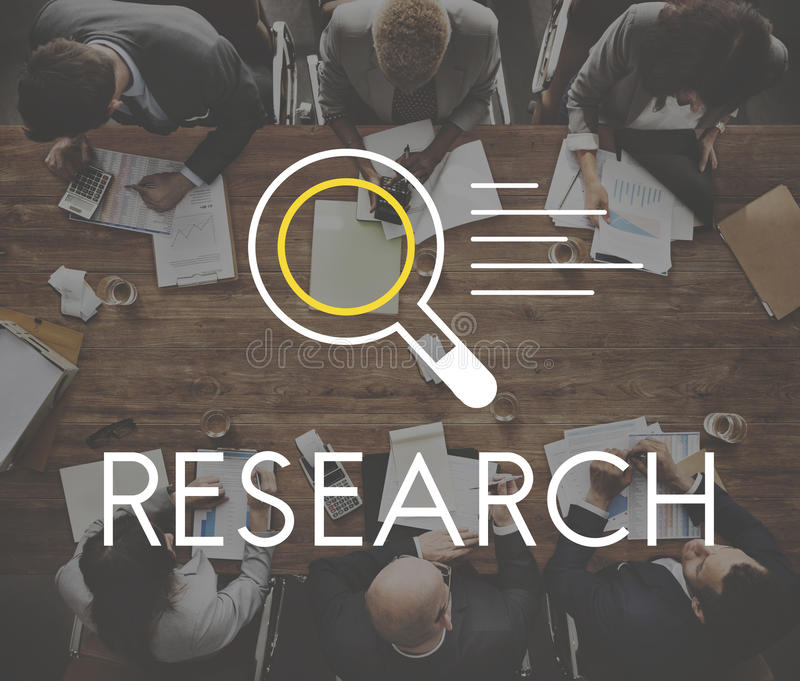 Research Results Knowledge Discovery Concept.  royalty free stock image