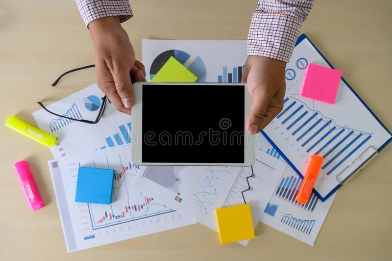 Research stock market chart paper for analysis Brainstorm Meeting research stock images
