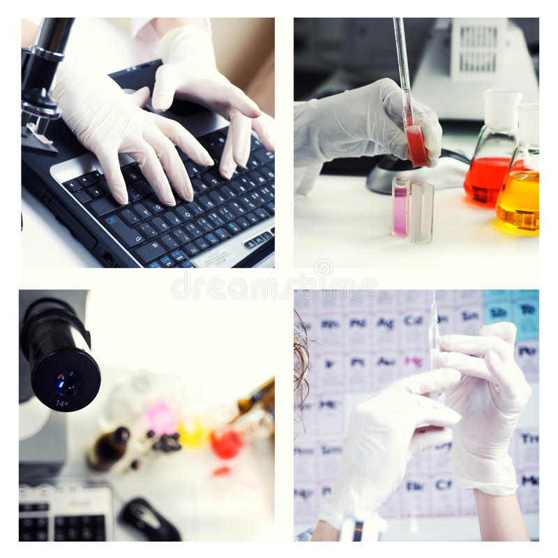 Research theme royalty free stock images