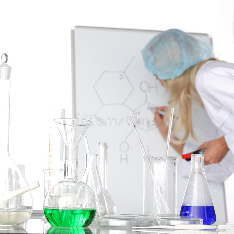 Download Researcher stock photo. Image of research, blond, biochemist - 29030482