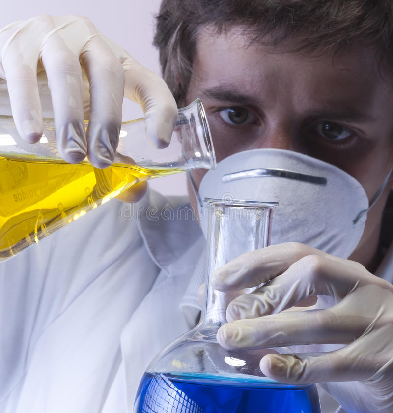 Download Researcher In The Laboratory Stock Photo - Image: 11965488