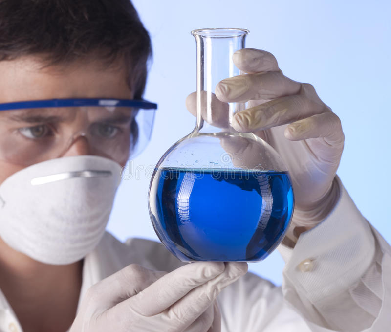 Download Researcher In The Laboratory Stock Photo - Image: 11965648