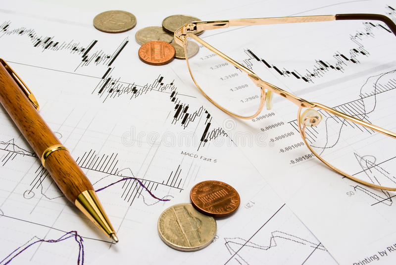 Download Researching stock trends stock image. Image of increase - 19412085