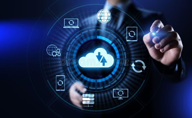 Reserv- begrepp för teknologi för internet för databas för programvaruapplikation royaltyfri foto