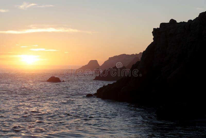 Reserva do estado de Lobos do ponto, Califórnia fotos de stock