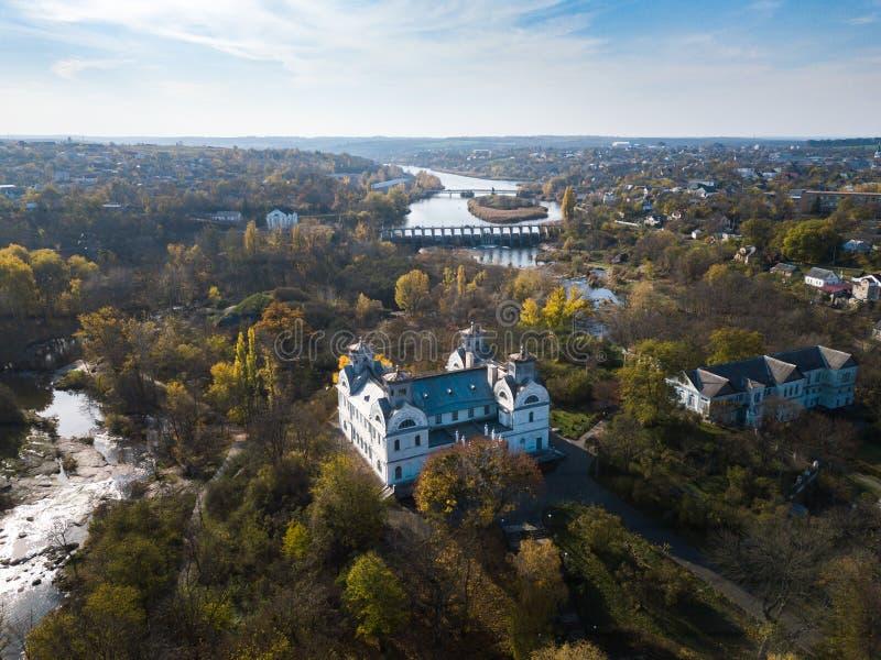 Reserva histórica y cultural del estado de Korsun-Shevchenkivsky imagen de archivo libre de regalías