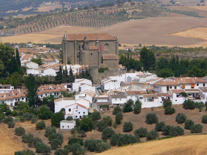 Reserva nacional de Serrania de Ronda imagenes de archivo