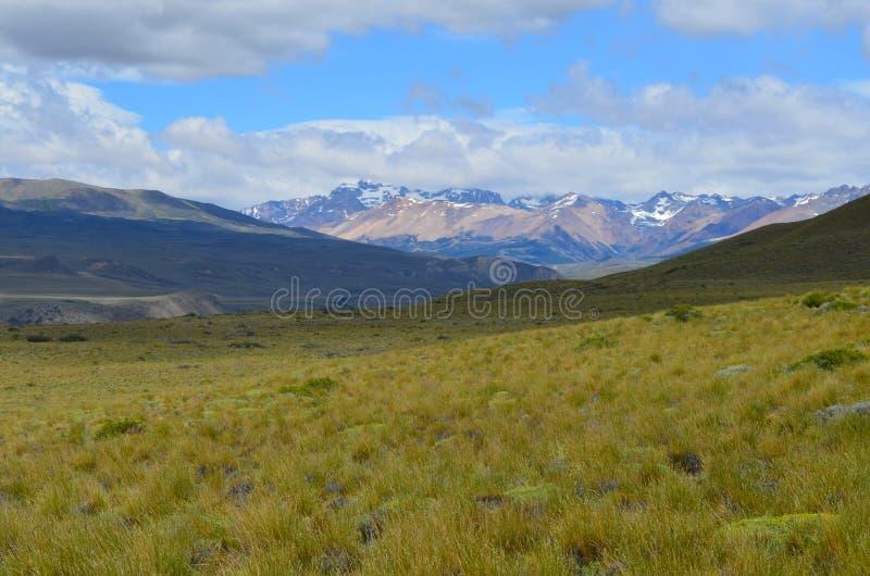 Reserva Nacional Lago Jeinimeni blisko Lago generała Carrera w Południowym Chile, zdjęcie stock