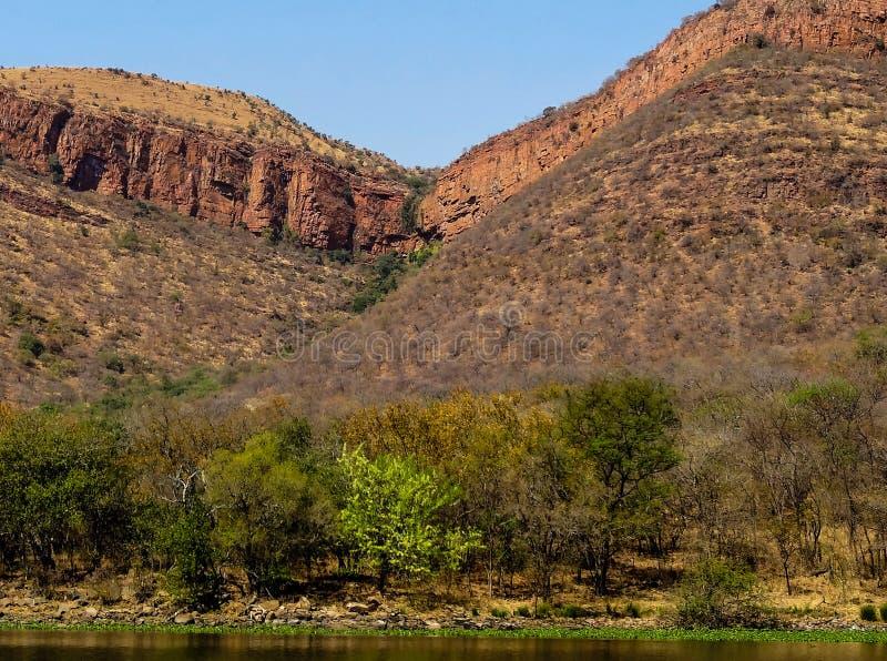 Reserva natural de Loskop imagem de stock