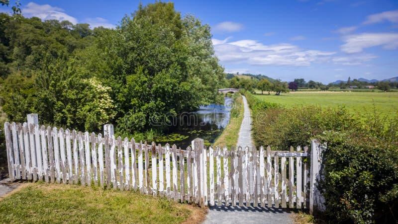 Reserva natural do canal fotos de stock royalty free