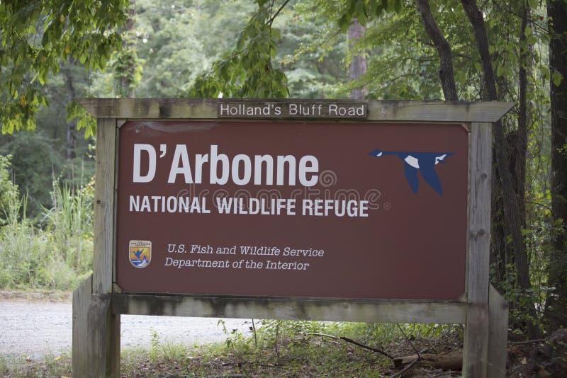 Reserva natural do nacional de Arbonne do ` de D fotos de stock