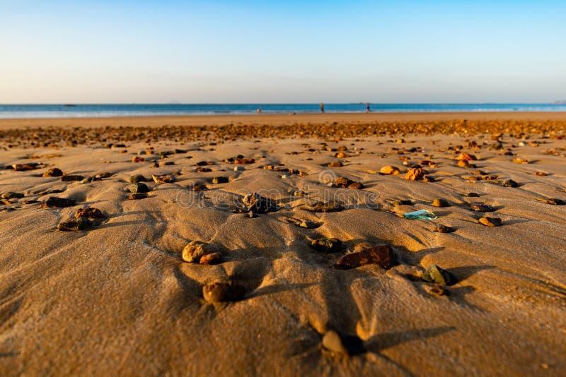 Reservado en el sandbeach foto de archivo libre de regalías