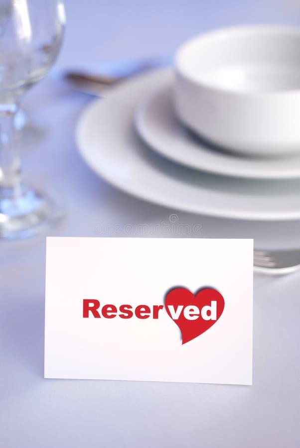 Reservado para amantes foto de stock royalty free