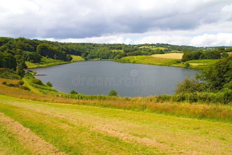 Reservatório de Clatworthy em Somerset fotografia de stock