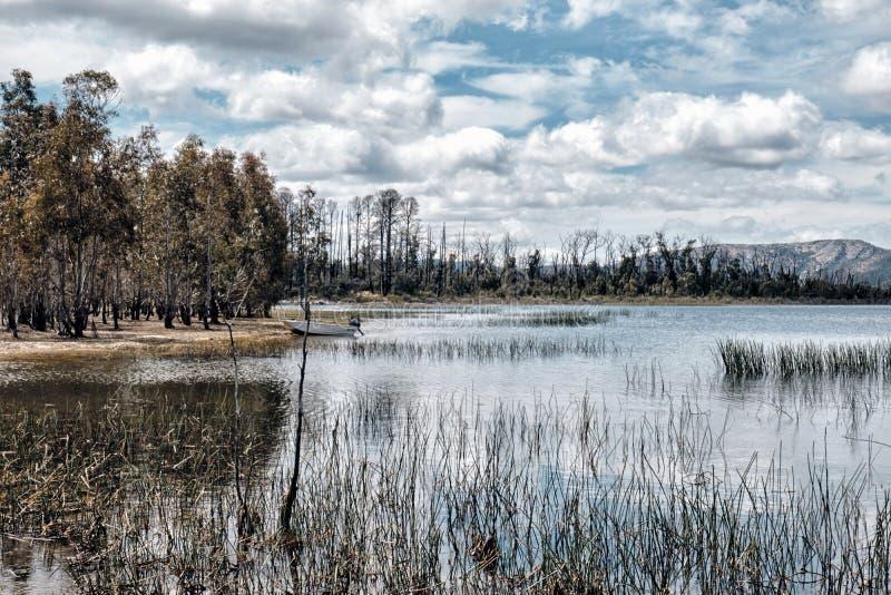 Reservatório de Wartook do parque nacional de Grampians, Victoria, Austrália fotografia de stock