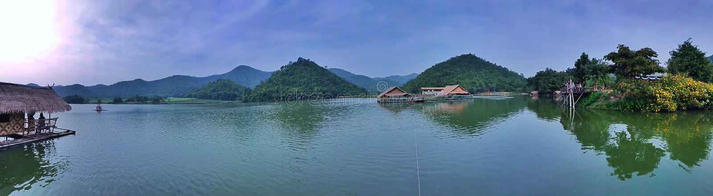 Reservatório de wong do khaow de Huub fotografia de stock