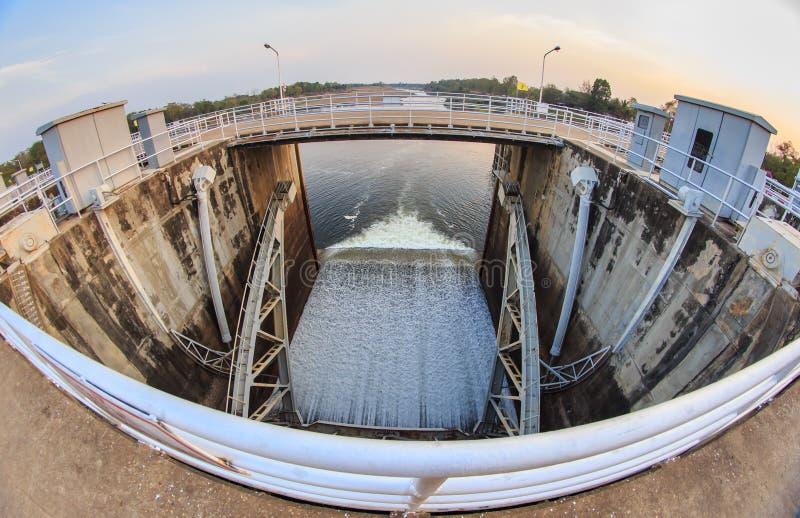 Reservatório e represa foto de stock