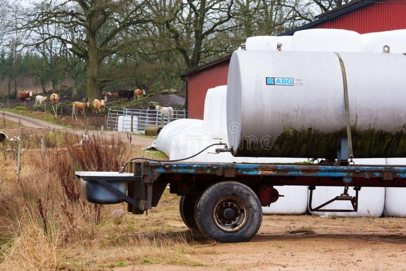 Reservatório móvel da água imagens de stock royalty free