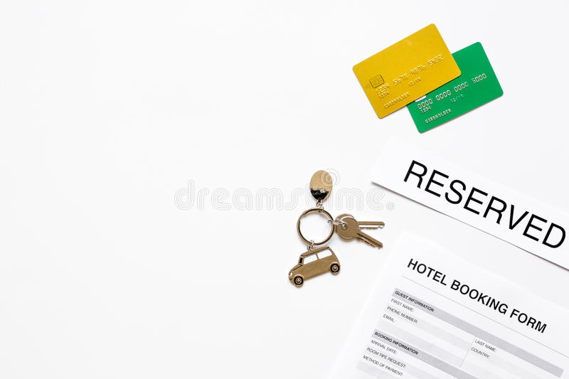 Reservation form on hotel reception desk background top view mock up download reservation form on hotel reception desk background top view mock up stock image image thecheapjerseys Choice Image