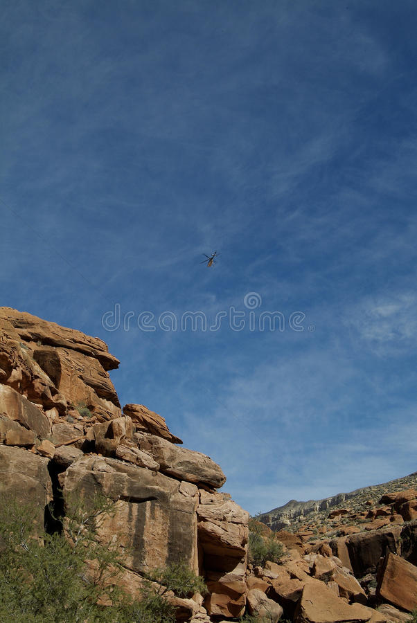 Reservation Helicopter Transport stock photography