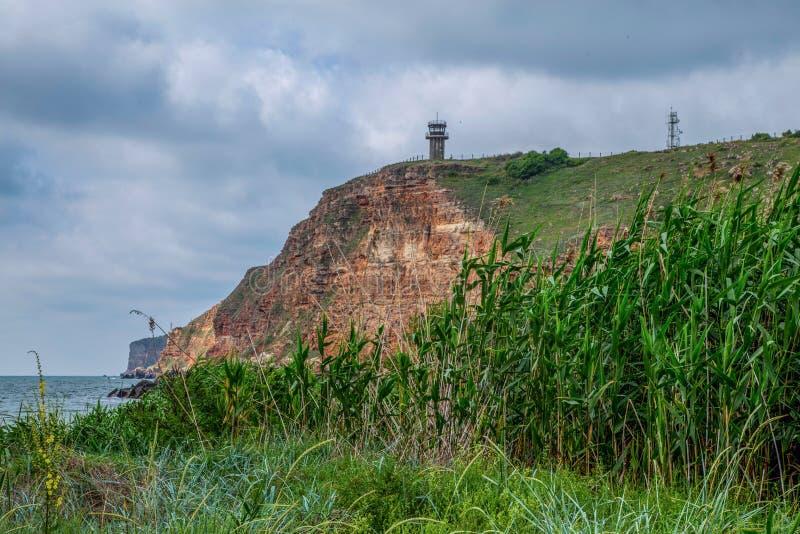 Only reserve of Bulgaria, including a marine aquatorium. stock photo