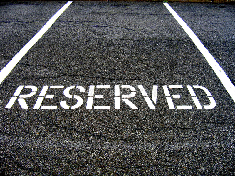Download Reserved for car parking stock photo. Image of place, road - 2817482
