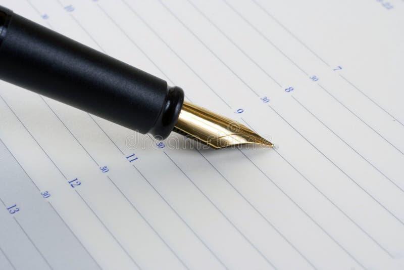 reservoarpenna royaltyfria bilder