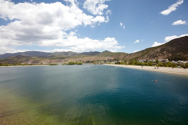 Download Reservoir stock photo. Image of reservoir, lijiang, mountain - 20525540