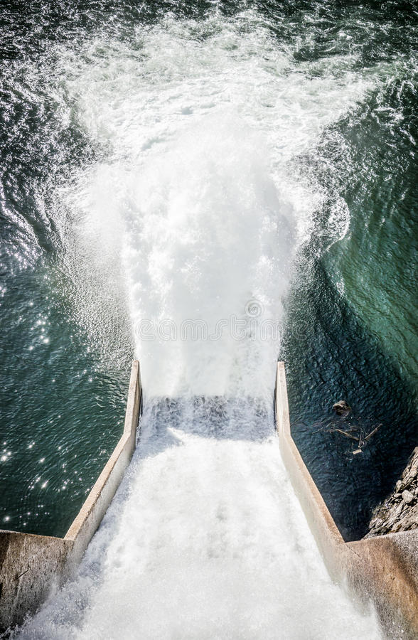 Reservoir stock afbeelding