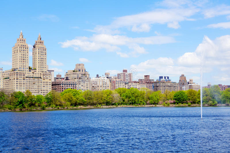 The Reservoir In Central Park Royalty Free Stock Photo