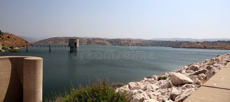 Reservoir in den paphos Zypern lizenzfreies stockbild