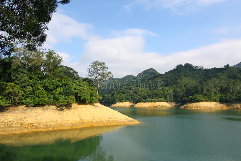 Reservoir in Hongkong stock fotografie