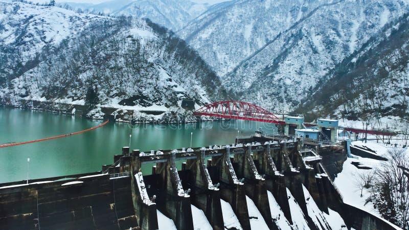 Download Reservoir in winter stock photo. Image of shirakawa, lake - 27501654