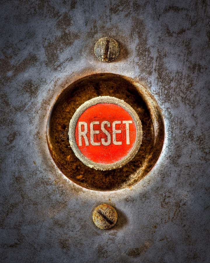 Download Reset the Grunge stock photo. Image of gray, industrial - 22959530