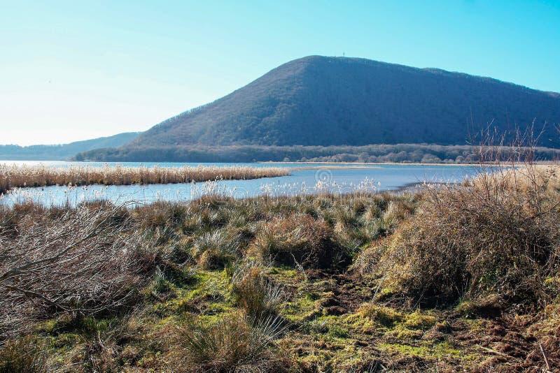 Reseve naturel de Vico de lac images stock
