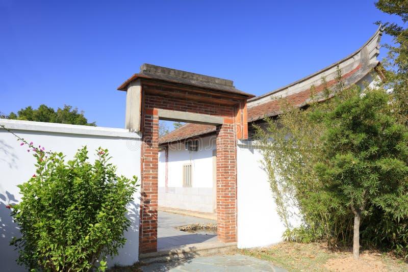 A residência anterior da réplica do linyutang, adôbe rgb fotografia de stock