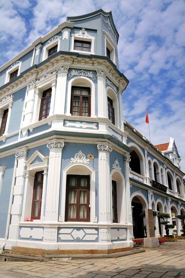 A residência anterior do Sr. Tan Kah-Kee fotografia de stock royalty free
