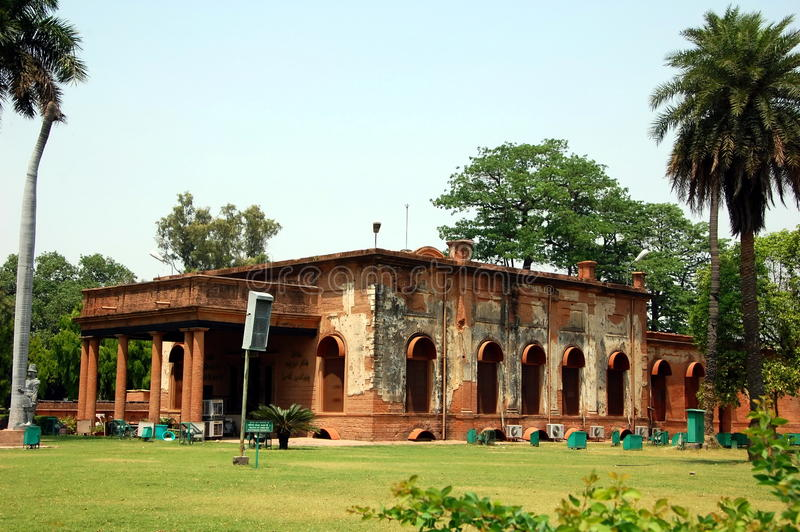 Residência britânica em Lucknow imagens de stock royalty free
