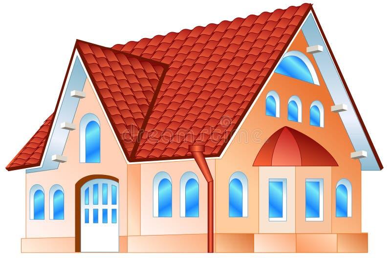 Residência confidencial ilustração stock