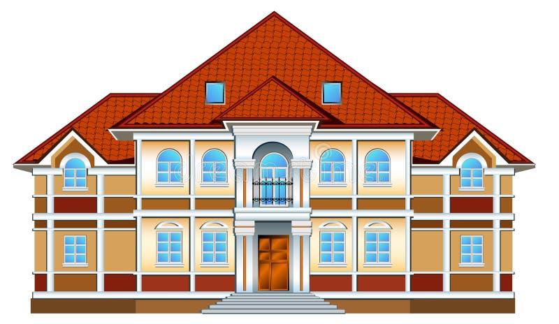 Residência confidencial ilustração royalty free