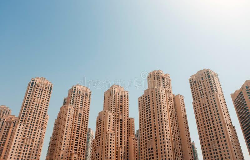 Residência da praia de Jumeirah fotografia de stock