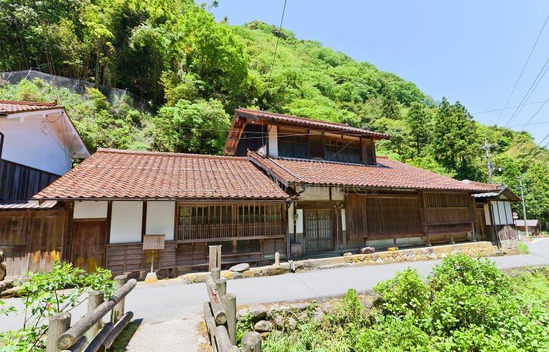 Residência de Takahasi de Iwami Ginzan, Omori, Japão imagens de stock