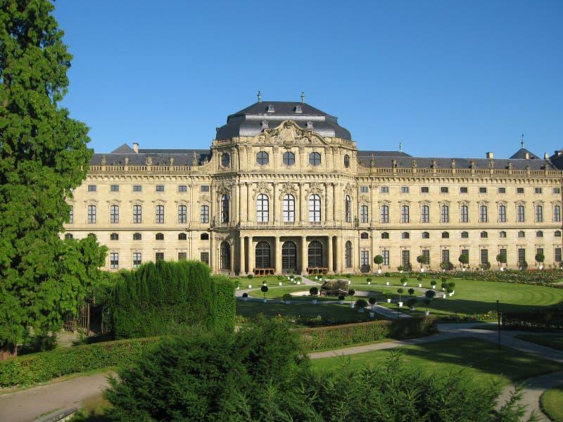 A residência de Wurzburg fotos de stock royalty free