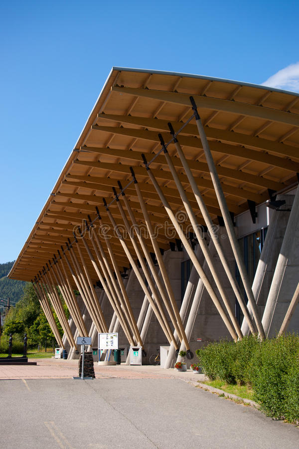 Residência dos Jogos Olímpicos do inverno, Lillehammer fotos de stock royalty free