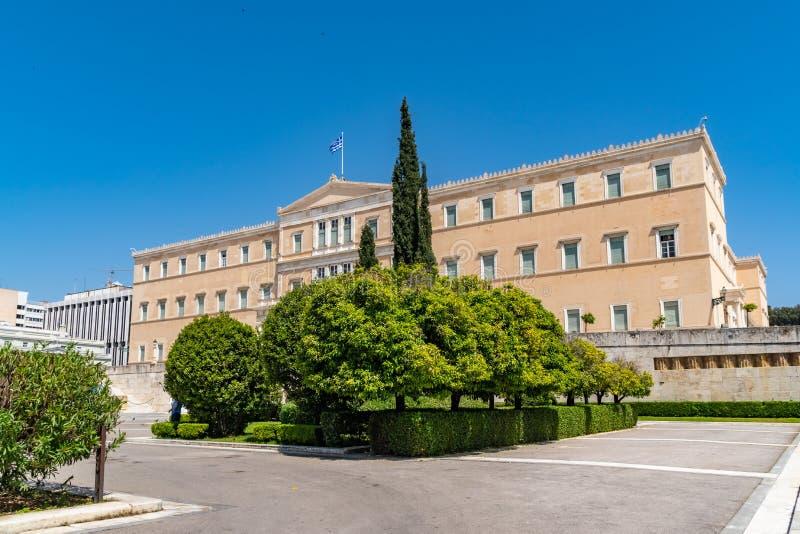 Residência oficial do presidente do Hellenic Republic fotografia de stock