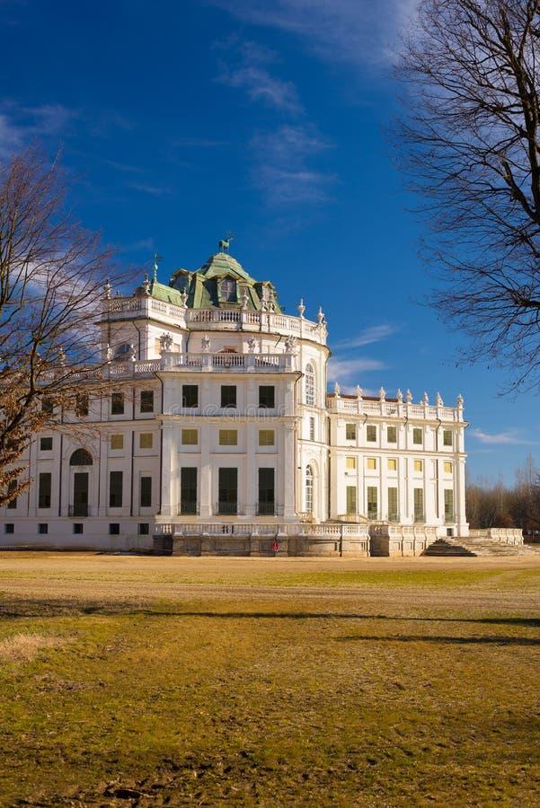 Residência real anterior em Turin fotos de stock royalty free