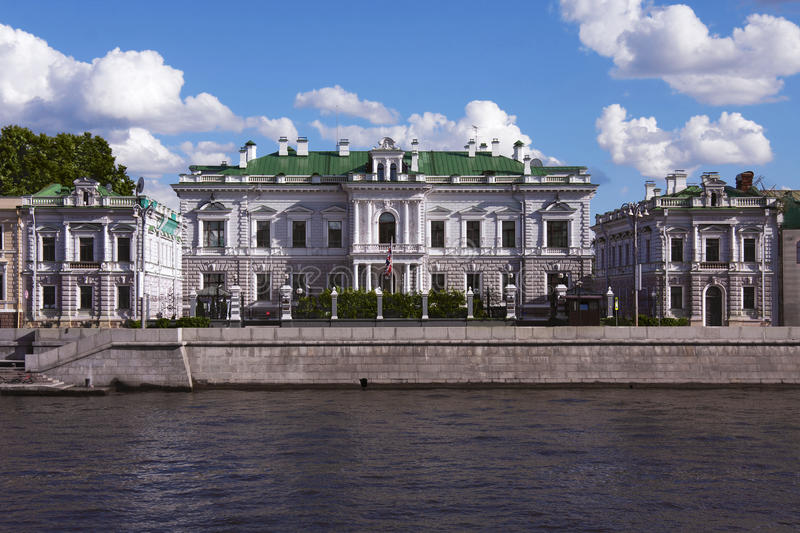 Download Residence Of The Ambassador Of Great Britain Stock Photo - Image: 25950610