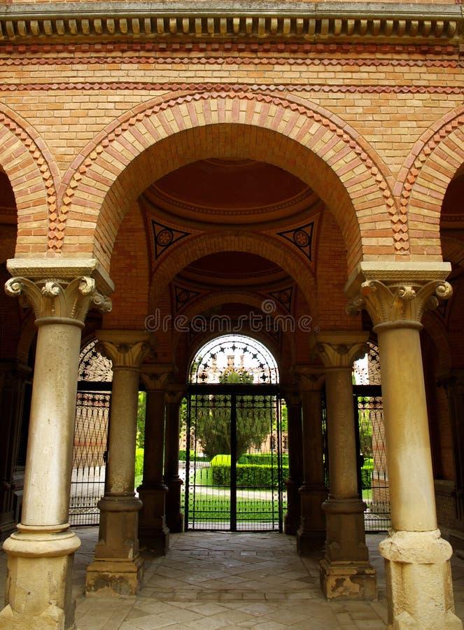 Residence of Bukovinian and Dalmatian Metropolitans. Ukraine royalty free stock image