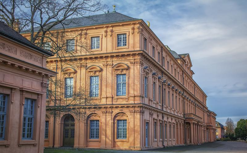 Residence castle in Rastatt,Germany royalty free stock image
