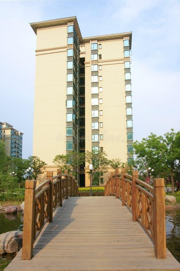 Download Residence community stock photo. Image of buildings, bridge - 25019260